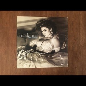 Madonna Like a Virgin Vinyl Album